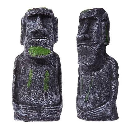 Picture of Ակվարիումի դեկոր Մոաի Զատկի կղզու արձանիկ