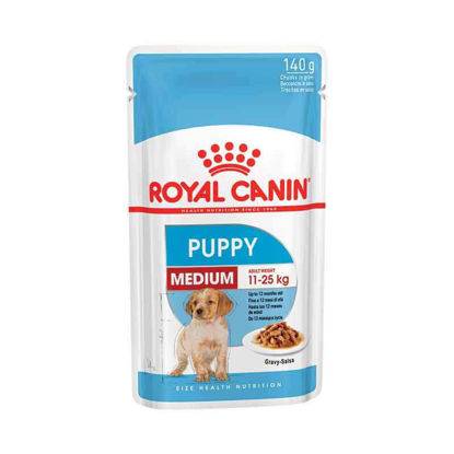 Picture of Royal Canin Medium puppy pouch 10 հատ x 140գ