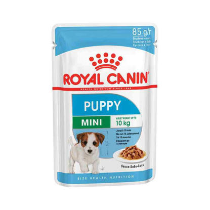 Picture of Royal Canin Mini puppy pouch 12 հատ x 85գ