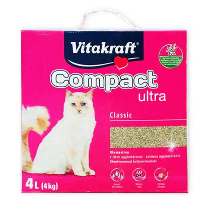 Picture of «COMPACT ULTRA» լցանյութ կատուների համար (4 կգ)