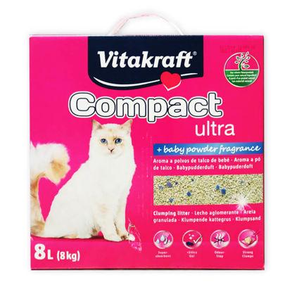 Picture of «COMPACT ULTRA+» լցանյութ կատուների համար (8 կգ)
