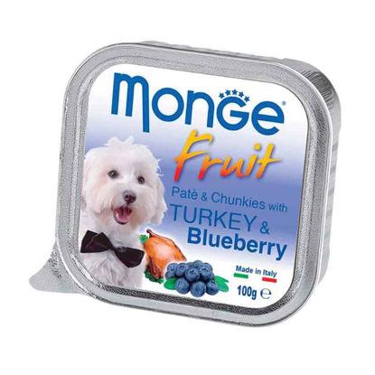Picture of Monge Fruit հնդկահավի մսով և հապալասով պաշտետ (100 գ)