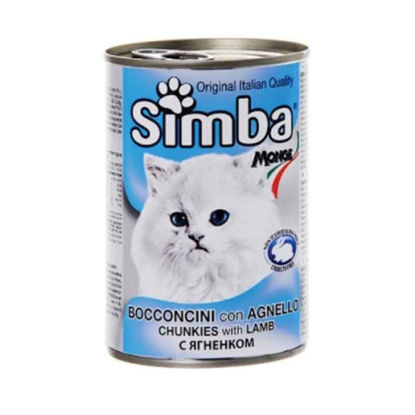Picture of Simba գառան մսով պահածո կատուների համար (415 գ)