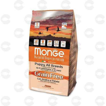 Picture of Monge Grain Free բադի մսով և կարտոֆիլով չոր կեր ձագերի համար (15 կգ)