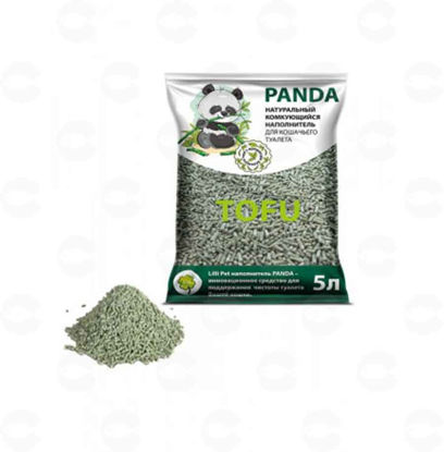 Picture of Panda լցանյութ տոֆու կանաչ թեյի հոտով 5լ