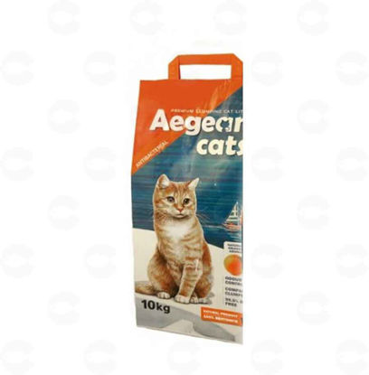 Picture of Aegean Կատուներ համար - կատվի լցոնիչ նարնջի բույրով 10 կգ