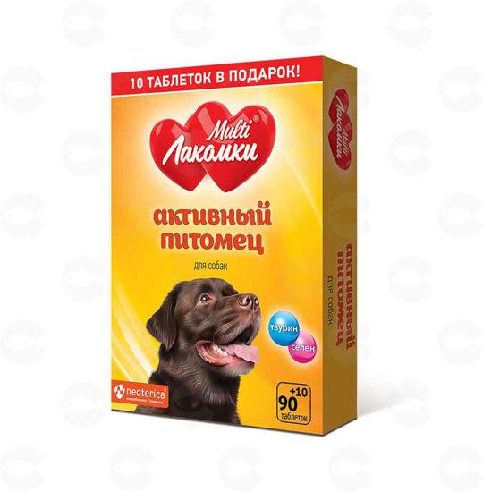 Picture of «МультиЛакомки Активный питомец» կերային հավելում շների համար