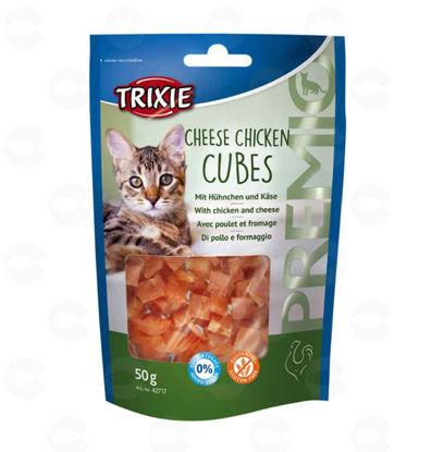 Picture of «PREMIO Cheese Chicken Cubes» կատուների համար