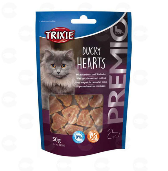 Picture of «PREMIO Ducky Hearts» կատուների համար (բադ)