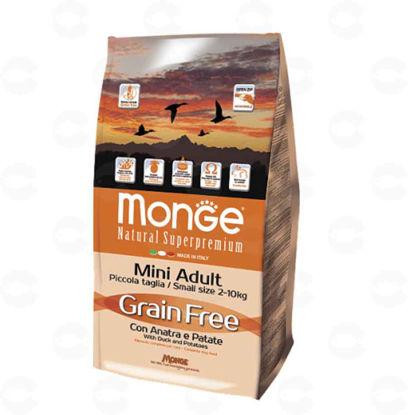 Picture of Monge Grain Free Mini Adult բադի մսով և կարտոֆիլով (15 կգ)