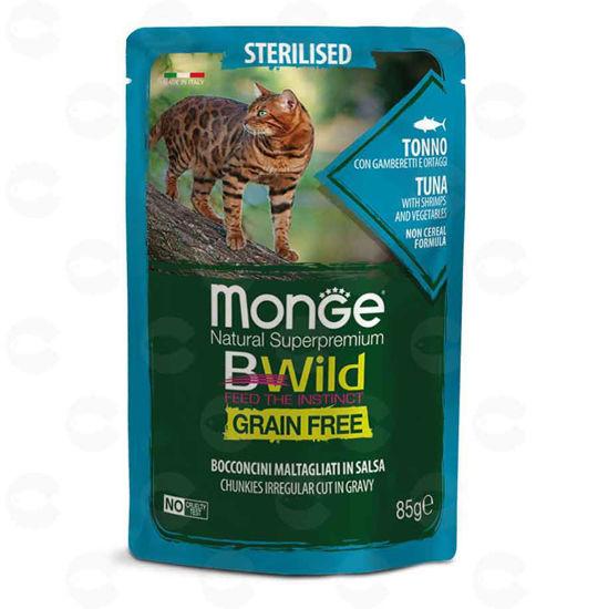 Picture of Պաուչ ստերիլիզացված կատուների համար Bwild ձկան (թյունոս)
