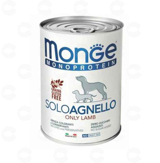 Picture of Կեր շների համար պահածո Monge Monoprotein (Գառ)