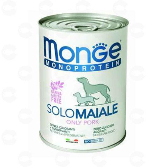 Picture of Կեր շների համար պահածո Monge Monoprotein (խոզ)