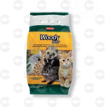 Picture of WOODY LITTER Հիգիենիկ լցանյութ փոքր կենդանիների և թռչունների համար 10լ