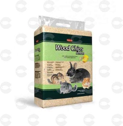 Picture of WOODCHIPS LEMON Հիգիենիկ լցանյութ լիմոնի բույրով 4կգ