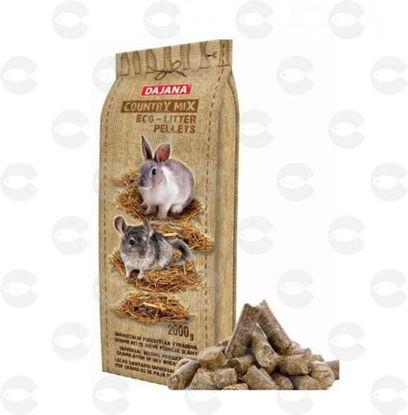 Picture of Dajana Country mix Eco-litter pellets՝ լցանյութ կրծողների համար․ գրանուլա 2 կգ